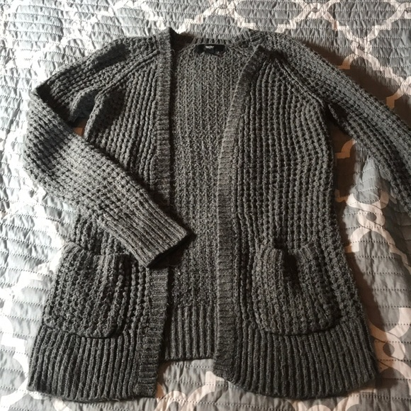 Mossimo Supply Co. Sweaters - Gray knit cardigan
